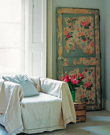 ¿Buena o mala idea? decorar con puertas antiguas