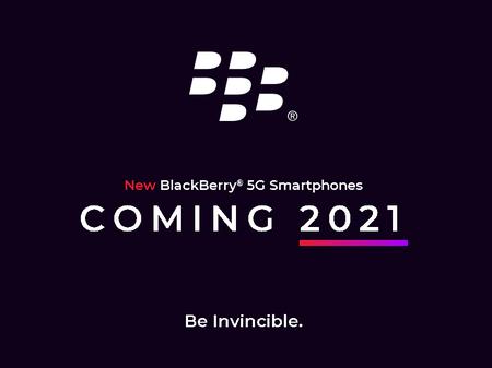 Blackberry Nuevos Smartphones Android Teclado Fisico 5g 2021