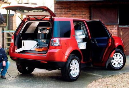 Land Rover Freelander 2 versión comercial