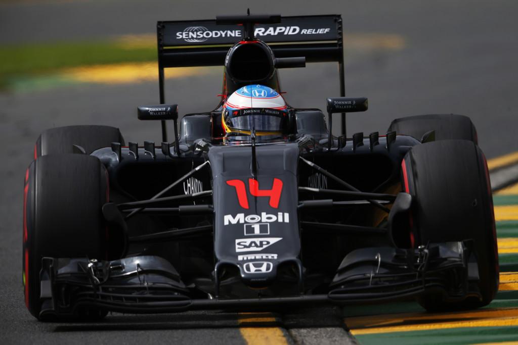 Alonso Australia 2016