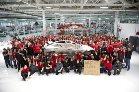 Tesla logra ensamblar el Model S número 1.000