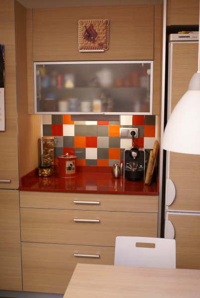 Enséñanos tu casa: la cocina de Montse y Santi