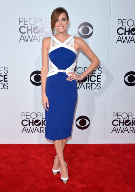 Peoples Choice Awards 2014 tendencias en vestidos de fiesta Allison Williams David Koma