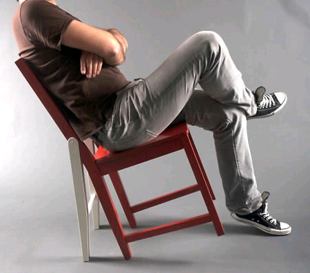 Attitude chair, una silla con 6 patas