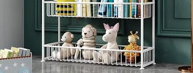 Vuelta al cole: estanterías infantiles para organizar sus libros y juguetes en una preciosa habitación