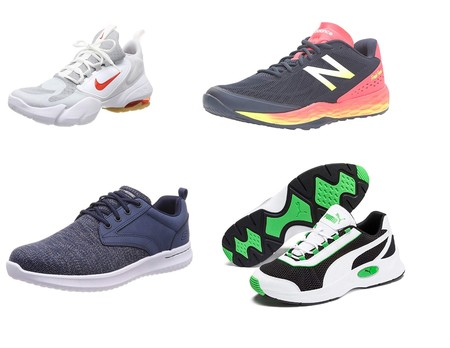 Chollos en tallas sueltas de zapatillas Nike, Puma, New Balance o Skechers en Amazon