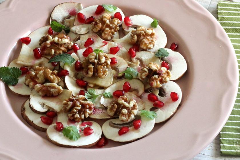 Siete estupendas recetas con granada para aprovechar esta fruta para el picoteo del finde