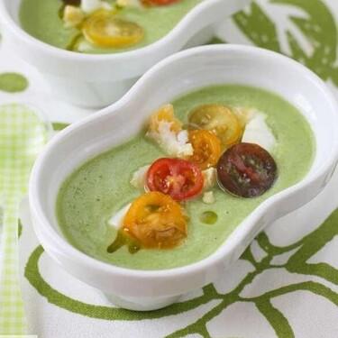 Gazpacho de calabacín, receta para un día de calor