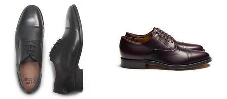 Zapatos Derby y Zapatos Oxford