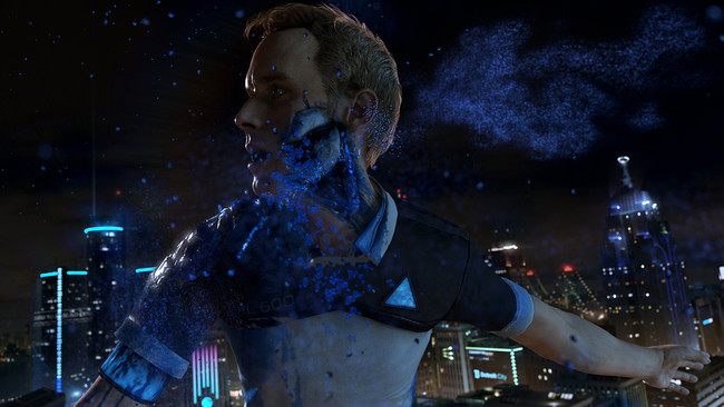 Detroit Become Human Android Muriendo
