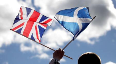 Bandera Escocesa