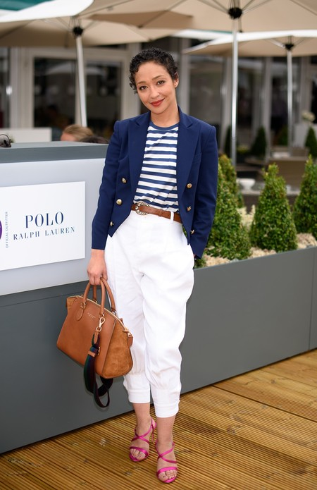 Ruth Negga Wearing Ralph Lauren