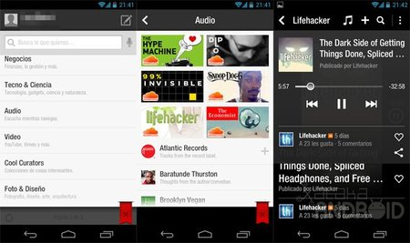 Redes Sociales+News+Podcast(Audio)= Flipboard 1.9.7