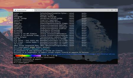 Ya tenemos Winget 1.0: instalar y actualizar todas tus apps desde la terminal en Windows 10 es más fácil y rápido que nunca