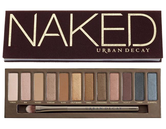 Paleta de sombras Naked de Urban Decay