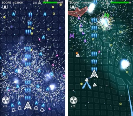 "Field Fighter, un vistazo al shooter estilo ""Geometry Wars"" para iOS"