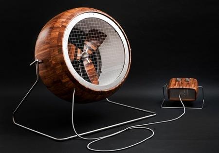 Big Fan, un ventilador ecológico que además es bonito