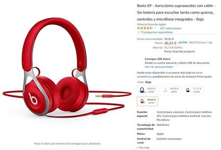 Beats Ep Oferta Amazon Precio Minimo Historico