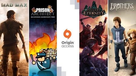 Mad Max, Pillars of Eternity y seis juegos más se incorporan al catálogo de Origin Access
