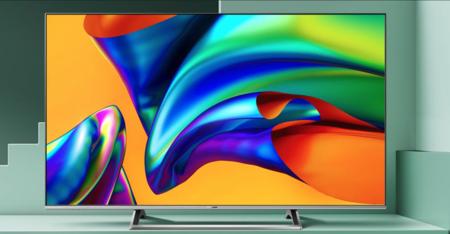 Una smart TV 4K de 55 pulgadas baratísima: la Hisense 55B7300 es un chollo que ronda los 300 euros en Amazon