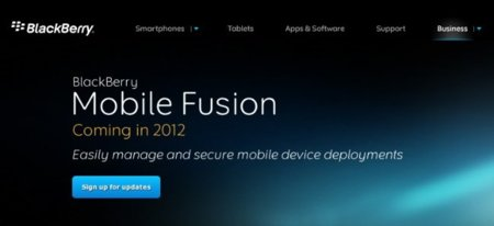 BlackBerry se desmarca y presenta Mobile Fusion, un software de seguridad para iOS y Android