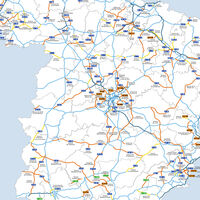 Todas las autovías hechas y por hacer en España, reunidas en un fantástico mapa