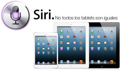 iPad 2, el gran marginado por Siri