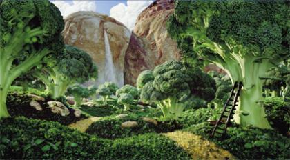 Los paisajes comestibles de Carl Warner