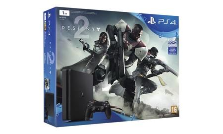 Ahorra 10 euros y llévate un juego extra con el Pack PS4 1 Tb + Destiny 2 en PcComponentes esta semana