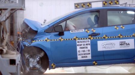 Nissan Versa 2020 Nhtsa 2
