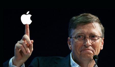 """Bill Gates afirma que """"Apple es una compañía impresionante"""" y reconoce su supremacía"""