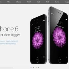 Foto 1 de 9 de la galería nueva-web-de-apple en Applesfera