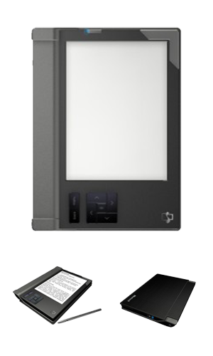 Ricavision Home E-Reader, tinta electrónica con SideShow