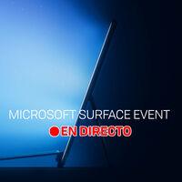 Microsoft Surface Event: sigue la presentación en directo y en vídeo con nosotros
