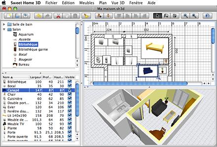 Sweet Home 3D, diseño de interiores para todas las plataformas