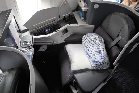 Asiento business.