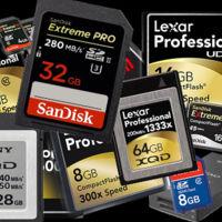 La guerra de las tarjetas de memoria: consejos para acertar en tu próxima compra