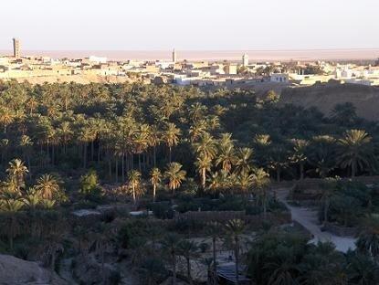 Nefta, un oasis en el corazón de un pueblo