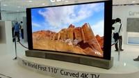 TCL muestra en IFA su impresionante pantalla curva de 110 pulgadas