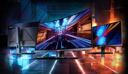 GIGABYTE G27QC y G27FC: paneles curvos, QHD o Full HD para los nuevos monitores gaming que llegan al mercado