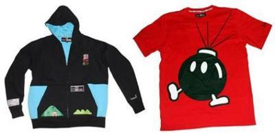 Moda para los fans de Nintendo