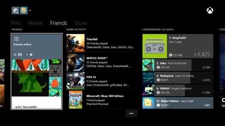 La actualización de Xbox One para el mes de agosto será muy social y promoverá el pique de logros