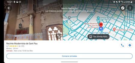 Google Maps Vista Partida