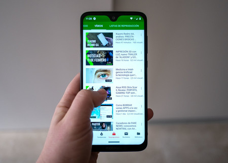 Moto G7 Plus Uso Youtube 01