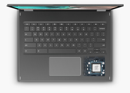 Teclas Chromebook convertible