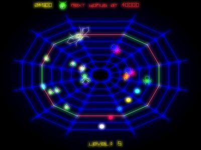 Remake del clásico de Atari 'Black Widow' por la cara. Sí, gratis