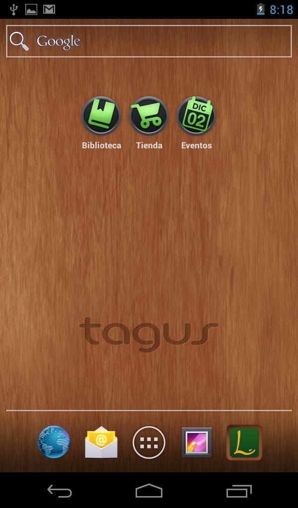Foto de Tagus Tablet, capturas (10/10)