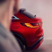 El Infiniti QX55 se deja ver tímidamente en este teaser: un nuevo SUV coupeizado de lujo está en camino