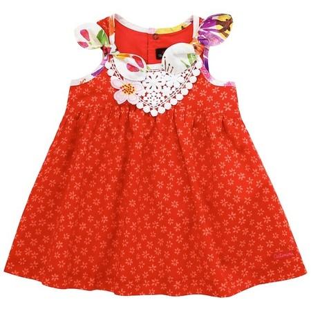 vestido rojo catimini