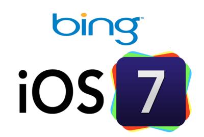 Apple se separa (más) de Google: Bing será el buscador por defecto de iOS 7